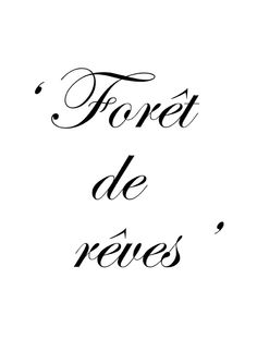 ♔ Forest of dreams