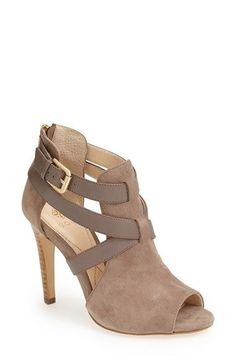 women shoes online, silver womens shoes, womens shoe shops - Isolá 'Blinn' Peep Toe Suede Bootie (Women) | Nordstrom
