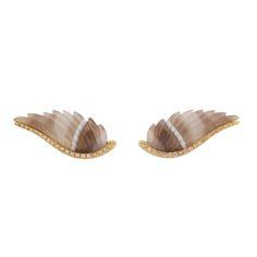 Agate Wing Ear Piece