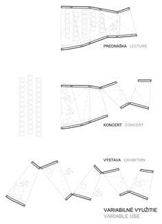 Gallery of BA_LIK / Vallo Sadovsky Architects – 7 - Architectural Module Architecture, Auditorium Architecture, Workshop Architecture, Architecture Model Making, Commercial Architecture, Architecture Portfolio, Concept Architecture, Public Architecture, Architecture Diagrams