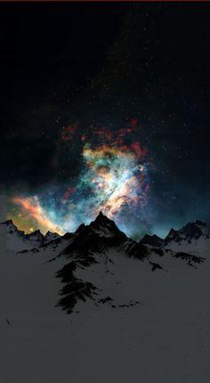 Galactic eruption
