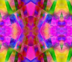 """""""Pink Diagonals"""" fabric by its an art fabric on Spoonflower - custom fabric"""