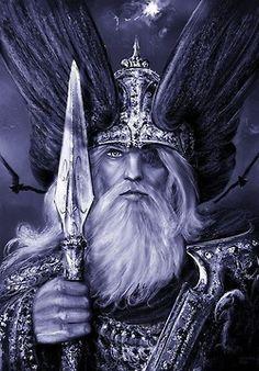 Wotan study 1 by andrekosslick on DeviantArt. Do not remove artist credit.  Odin