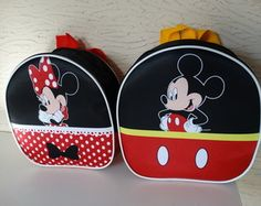Mochila Minnie e Mickey 3