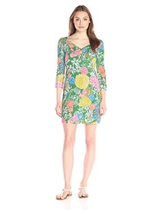 Lilly Pulitzer Women's Palmetto Dress, Multi Hibiscus Stroll, X-Small- #fashion #Apparel find more at lowpricebooks.co - #fashion