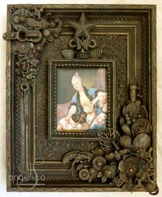 AngelicaS: Tutorial Altered Junk frame! Way cool!