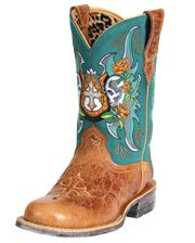 Ariat Ladies' Rodeobaby Relic Boots - www.fortwestern.com