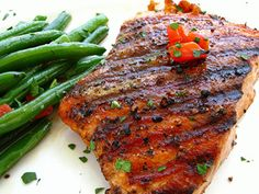 America's Most Wanted Recipes At the Grill: Outback Steakhouse Wood-Fire Grilled Salmon