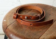 JOINERY - Single Collar Button Belt by Billykirk - WOMEN