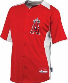 Majestic Adult Cool Base MLB Batting Practice Jersey Angels, small by Majestic. $19.97. Majestic Adult Cool Base MLB Batting Practice Baseball Jersey Authentic button Front jersey. Full or left chest decoration is woven heat transferred custom application. MLB Authentic collection Locker Tag. Cool Base lightweight moisture wicking stretch fabric. Adult Sizes: S - 2XL. Available in all MLB Teams.