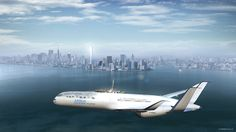 #Airbus #Concept #Plane - #NYC fly-by
