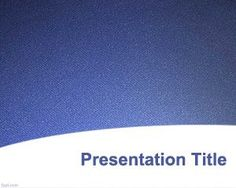 Download free Blue Texture PowerPoint backgrounds and templates for presentations in Microsoft Office.