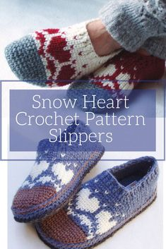 d4c34bcfc89b These crochet slippers are so cute and would be great to whip up as a  Valentines gift.