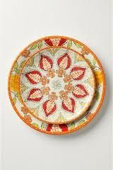 Anthro Persimmon dinnerware - I really want these!!!