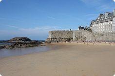 Saint-Malo - France -   plage du Môle