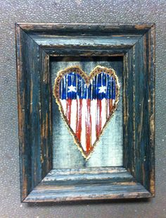 """Land That I Love"" Hearts Under Construction  By Sheri White Available at requisites gallery In Chesapeake, VA s SOLD"