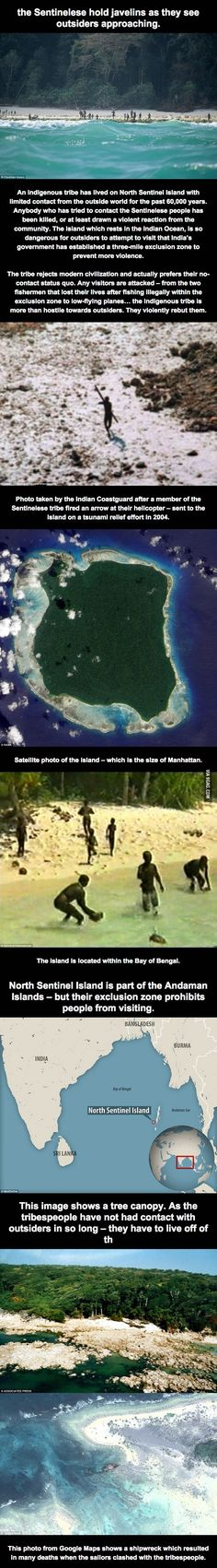 People Who Live On This Island Kill Anybody Who Tries To Come Ashore