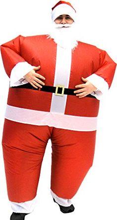 Nick Father Christmas Fancy Dress Costume Adults Orange Santa Clause Fleece St