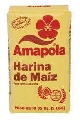 Amapola Corn Flour / Harina de Maiz Amapola