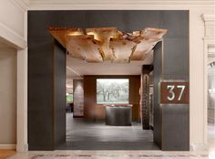 Parallel 37 restaurant in the Ritz-Carlton, Nob Hill, SF. Such great design!