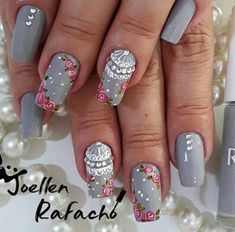 nail art designs 2019 short nail designs 2019 self adhesive nail stickers nail art sticker stencils full nail stickers Cute Nails, Pretty Nails, My Nails, Gel Nail Art Designs, Short Nail Designs, Fabulous Nails, Gorgeous Nails, Nail Art Modele, Nail Art Sticker