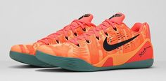 Nike Kobe IX 9 em Peach Cream Bright Mango Size 15 #Nike #BasketballShoes