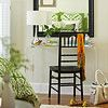 Shine On  In any small space, using mirrors is a decorating trick that works wonders. They reflect light and make a space feel bigger. Hang a large mirror in your apartment's dining space, living room, or bedroom across from a window, so it is in a prime position to receive natural light and reflect it back into the room.