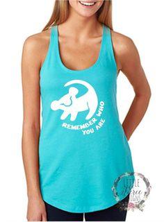 Disney Shirts / Remember Who you are / Disney Shirts for Women – LittleButFierceCo