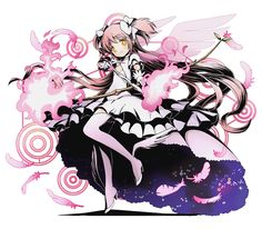 endlessmageoflove:  New Official Art from Madoka Magica Divine Collaboration Part 2 Part 1