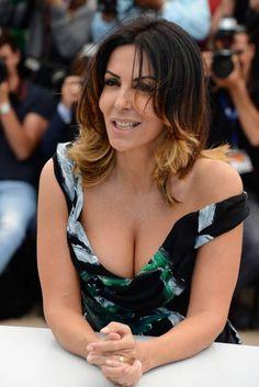 Sabrina Ferilli, italian actress, born 1964.