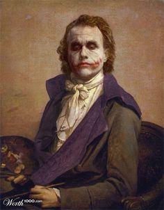 Les utilisateurs du site Worth1000 recréent des peintures classiques avec des héros de Comics .