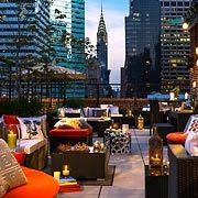 East 57th, our hotel's rooftop terrace... NYC trip is just around the corner, starting to make plans!