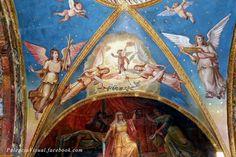 Frescos en la Ermita de Nuestra Señora de la Piedad. Herrera de Pisuerga.