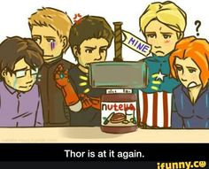 Thor did it