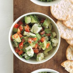 Got extra avocados and feel like doubling up on dips? Make this Avocado and White Bean Dip too.
