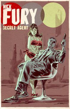 Nick Fury — Secret Agent By Mitch Breitweiser