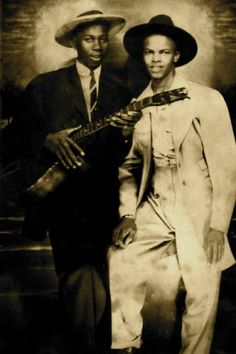 Supposedly Robert Johnson with Johnny Shines