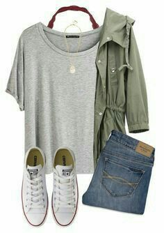 I desperately want on olive green jacket. - I desperately want on olive green jacket. Source by - Outfits With Converse, Casual Outfits, Casual Dresses, Converse Fashion, Work Outfits, Converse Sneakers, Casual Party Outfit Teen, Junior Fashion Outfits, Casual Clothes