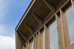 Image 4 of 16 from gallery of Grizedale / Sutherland Hussey Architects. Courtesy of Sutherland Hussey Architects Wood Structure, Architecture Details, Windows, Architects, Gallery, Design, Home Decor, Centre, Decoration Home