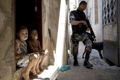 El morro Jacarezinho  Redada de las Fuerzas de Acción en el morro Jacarezinho de Río de Janeiro.  Christophe Simón / AFP