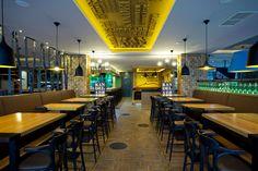 Interiér Restaurantu Kandelábr