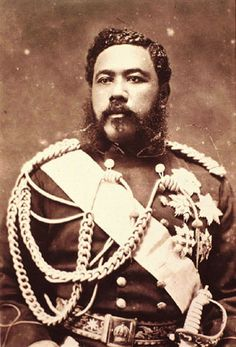 """King David Kalakaua, known as the """"Merrie Monarch"""". came to the throne of the Hawaiian Kingdom in 1874 and reigned until his death in 1891."""
