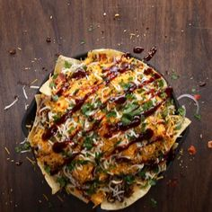 BBQ Cheeseburger Nachos Recipe by Tasty