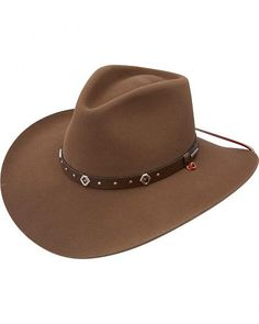 Stetson 3X Elk Ridge Stallion Wool Cowboy Hat 2588456afe70