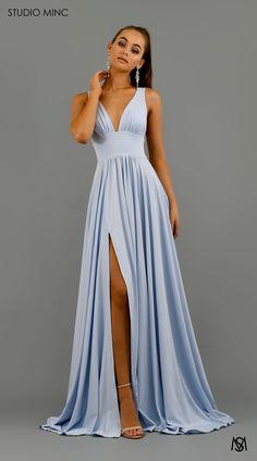 ce605af87 80 Best Baby Blue Dresses images   Beautiful dresses, Dressing up ...