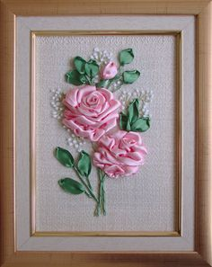 Ribbon embroidery 001