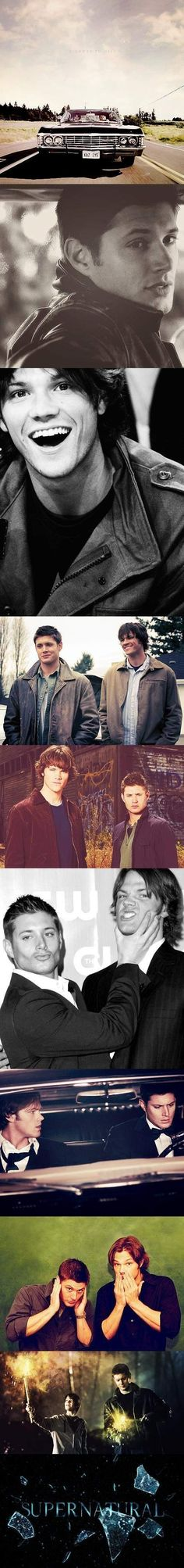 Supernatural Collage
