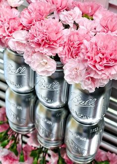These flowers are around 5$ at most bodegas yet they can look super elegant when done right. I would put these in mason jars and scatter them around the house. Light votive candles and scatter them around these for a elegant and romantic party look.