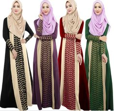 2015 Muslim abaya dress for women Islamic dresses dubai Islamic clothing Muslim kaftan abaya Dress turkish jilbab hijab 400-in Islamic Clothing from Novelty & Special Use on Aliexpress.com | Alibaba Group