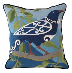 Needlepoint Pillows, Needlepoint Patterns, Needlepoint Canvases, Cross Stitch Patterns, Embroidery Patterns, Tapestry Kits, Fibre And Fabric, New Zealand, Cushions